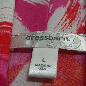 Dress Barn Tops - New DRESS BARN Ruched Silky Sleevless Blouse E26